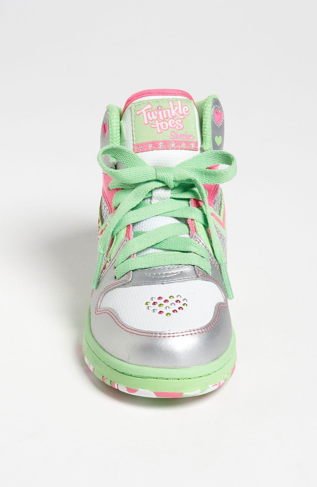 Alternate Image 3  - SKECHERS 'Twinkle Toes - Heart N' Soul' Sneaker (Toddler, Little Kid & Big Kid)