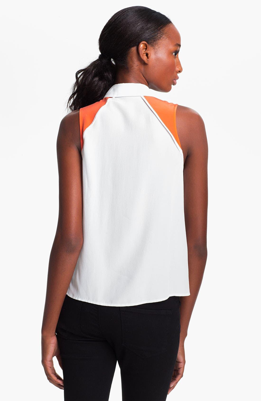Alternate Image 2  - Equipment 'Mina' Silk Shirt