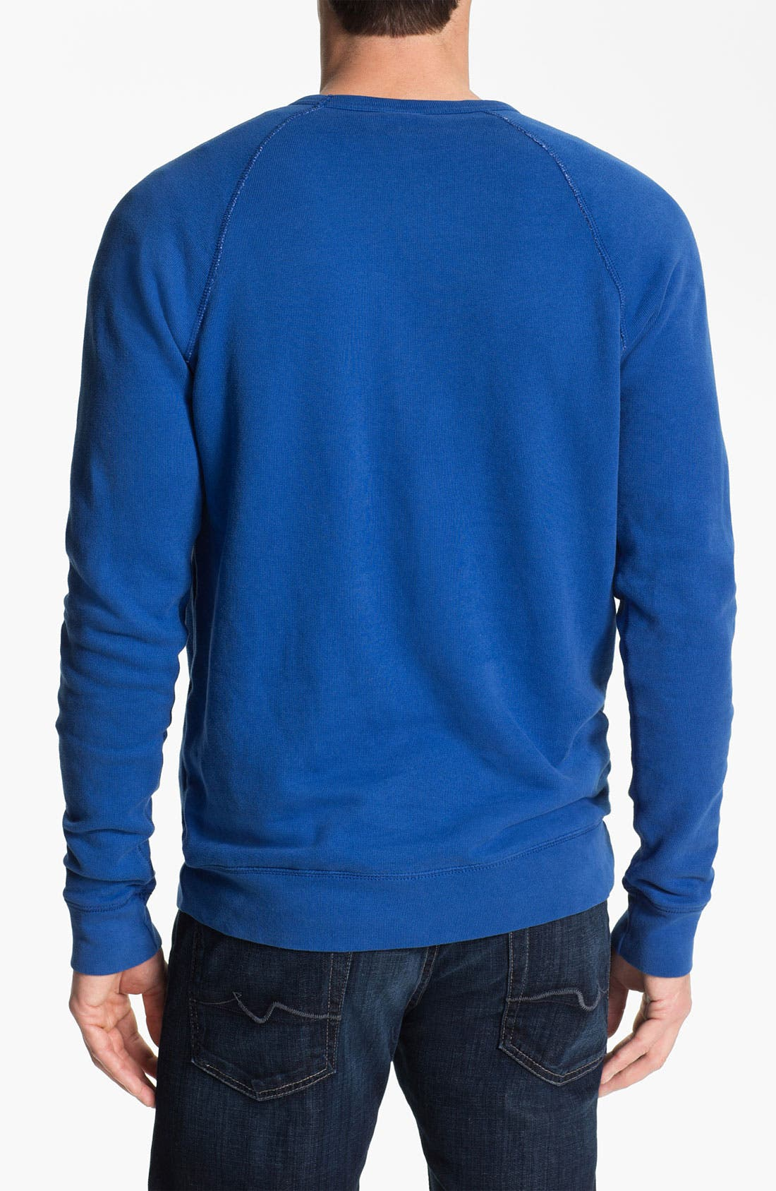 Alternate Image 2  - Junk Food 'New England Patriots' Sweatshirt