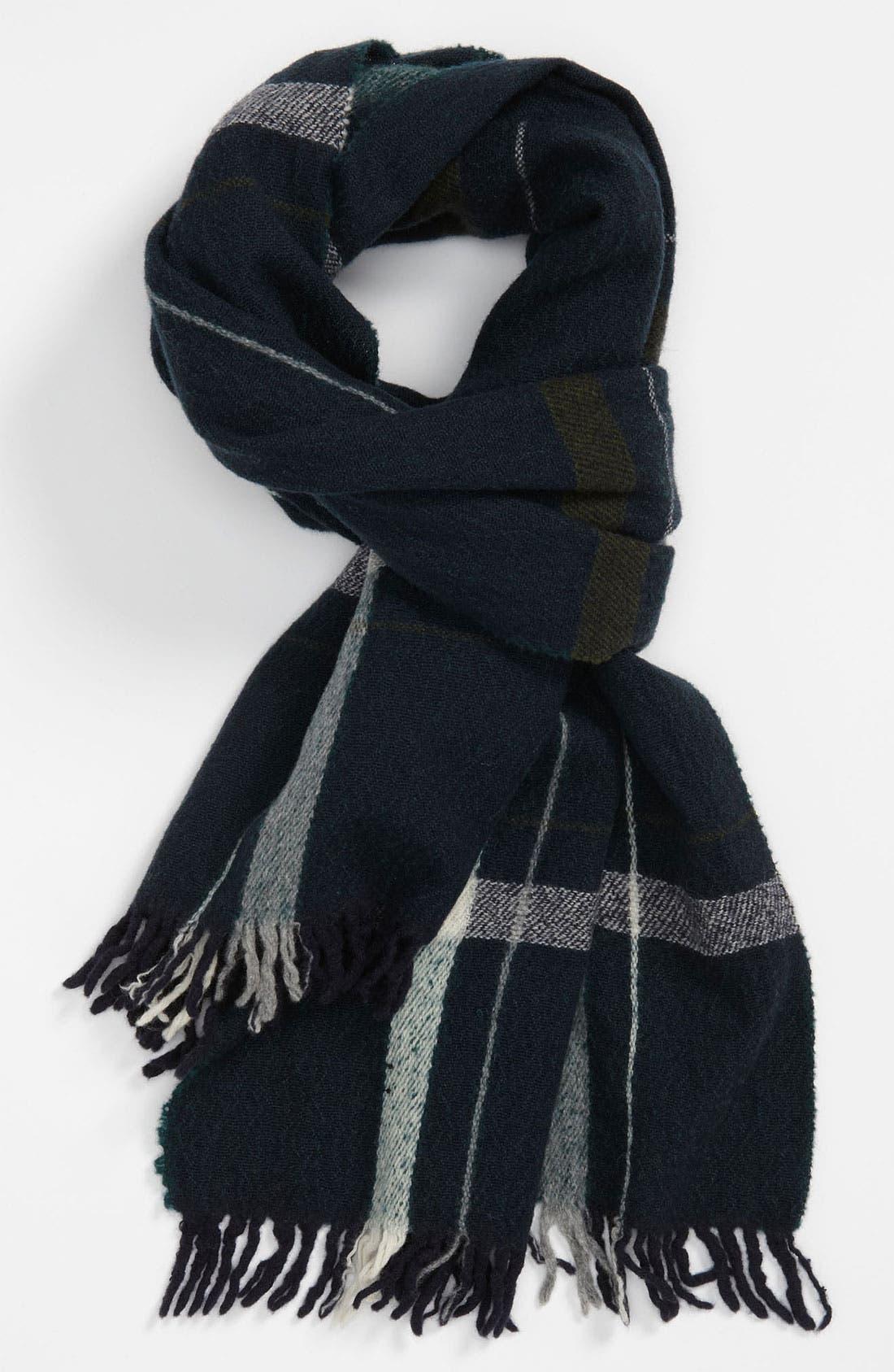 Main Image - rag & bone Check Wool Scarf