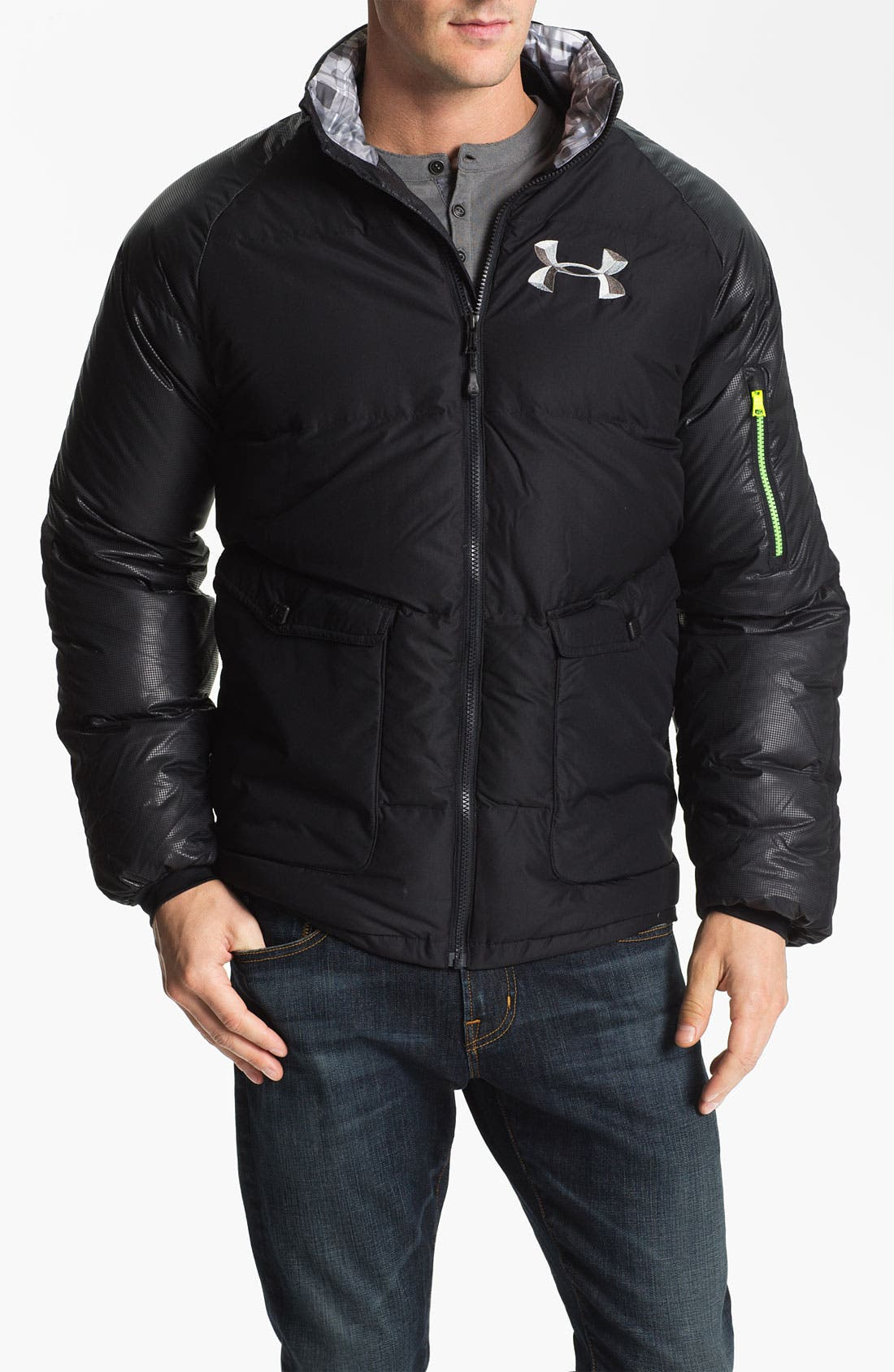 Alternate Image 1 Selected - Under Armour  'Rivalry Storm'  Jacket