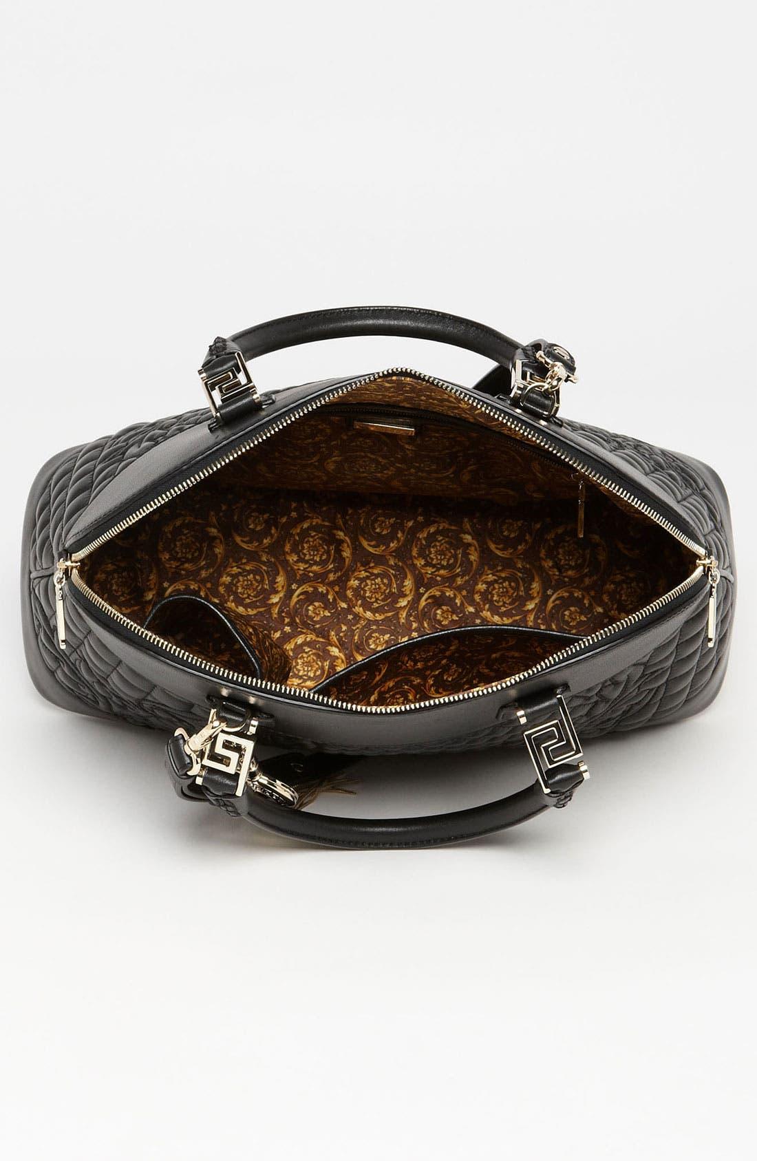 Alternate Image 3  - Versace 'Vanitas' Embroidered Leather Satchel