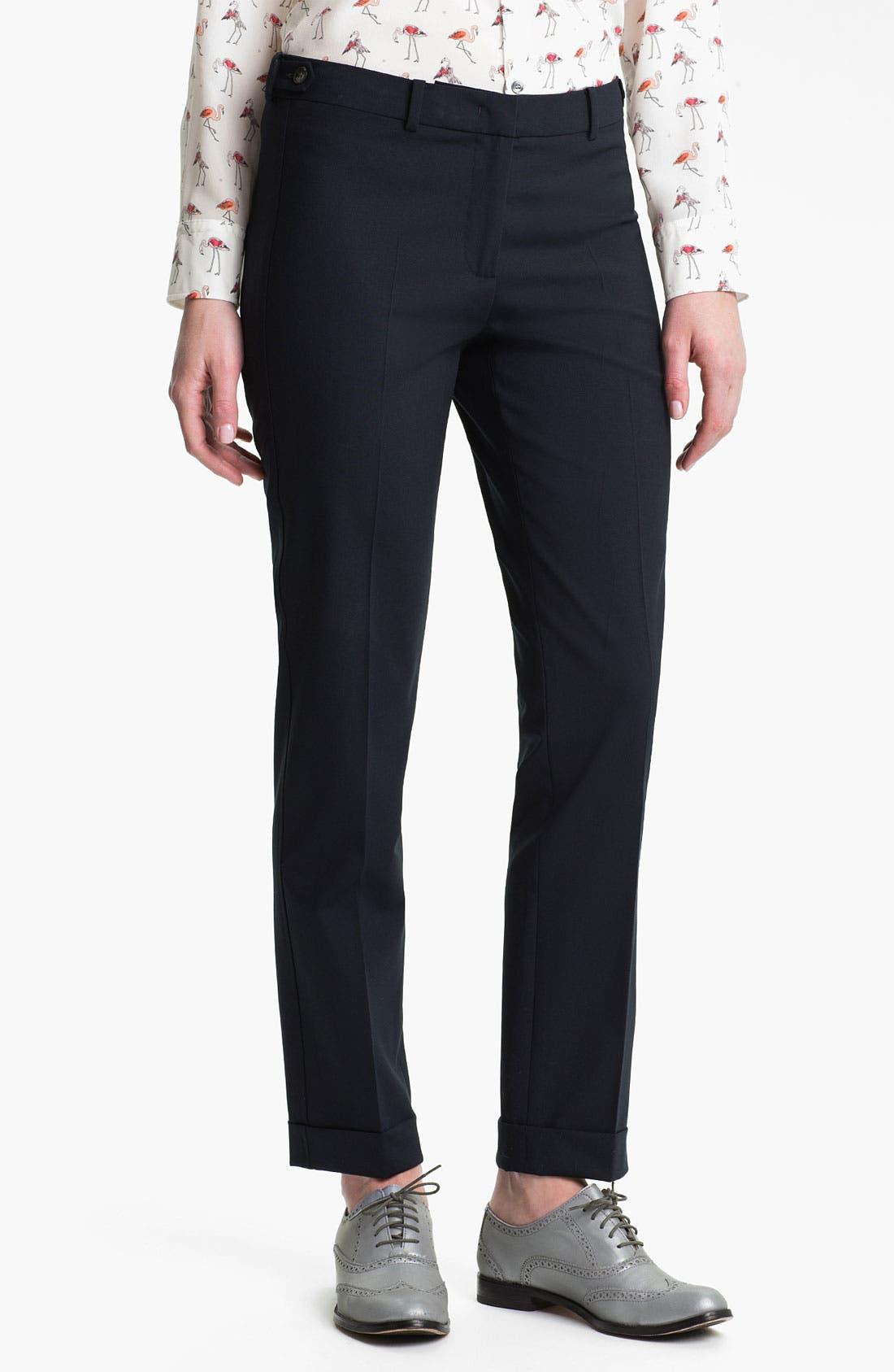 Alternate Image 1 Selected - Weekend Max Mara 'Oscuro' Stretch Wool Pants