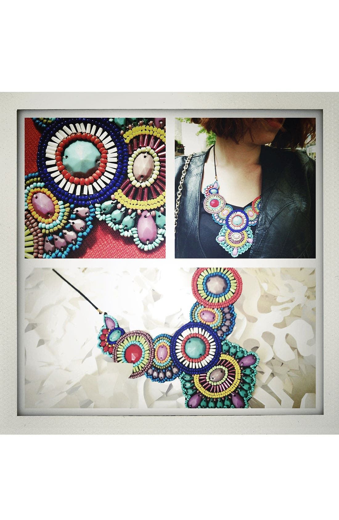 Alternate Image 2  - Spring Street 'Frida' Statement Necklace