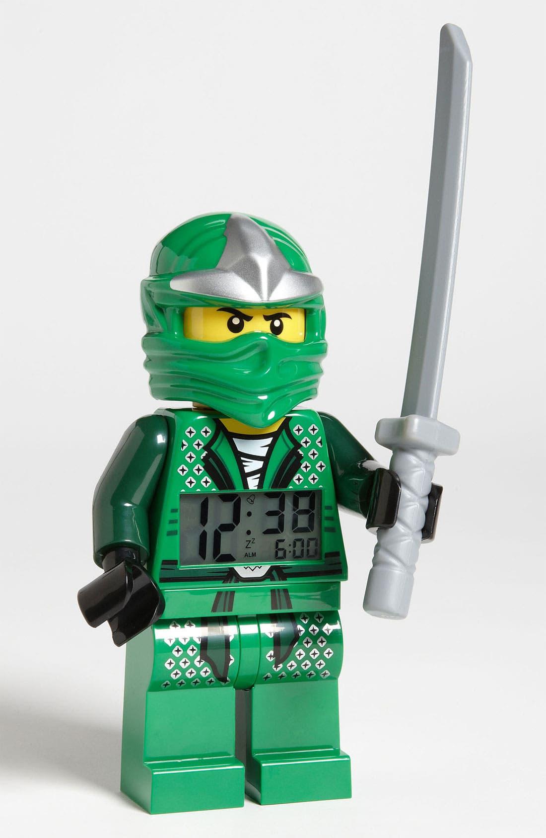 Alternate Image 1 Selected - LEGO® 'Ninjago - Lloyd' Alarm Clock