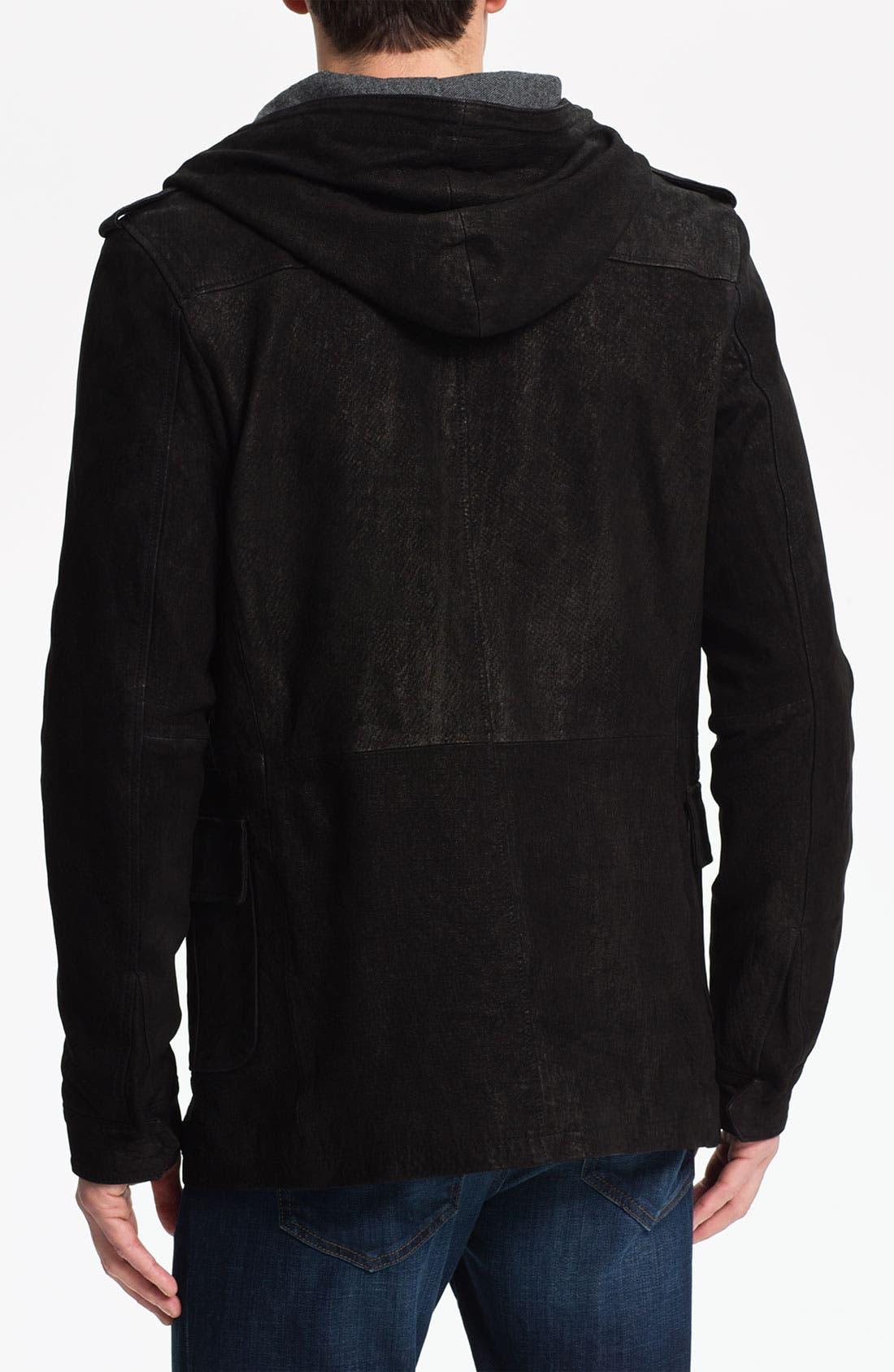 Alternate Image 2  - Joe's 'Sebastian' Leather Jacket