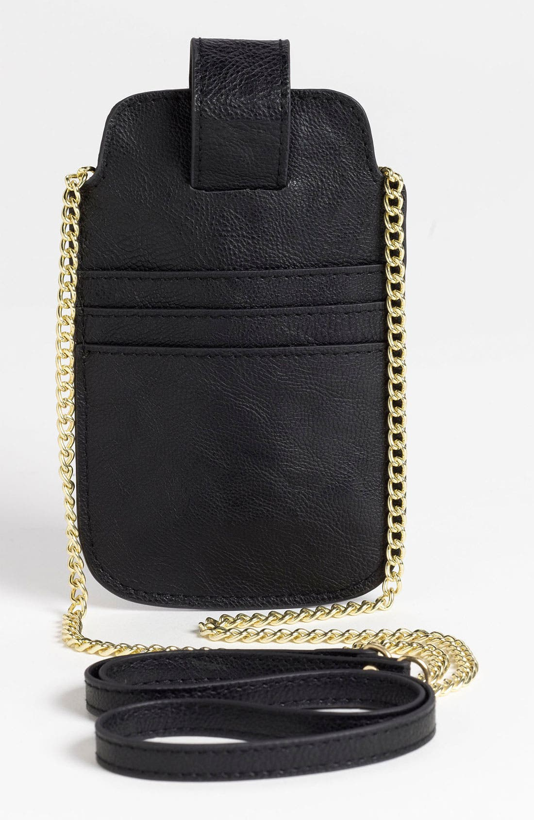 Alternate Image 4  - Lulu Studded Crossbody iPhone Case