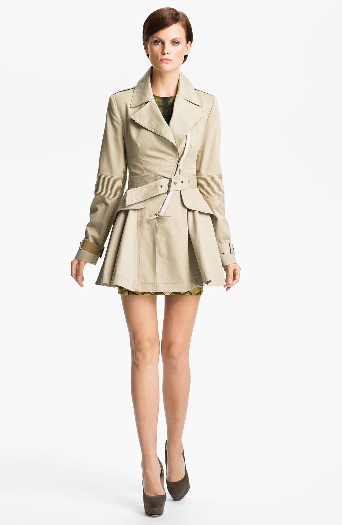 Alternate Image 1 Selected - McQ by Alexander McQueen Belted Trench Coat