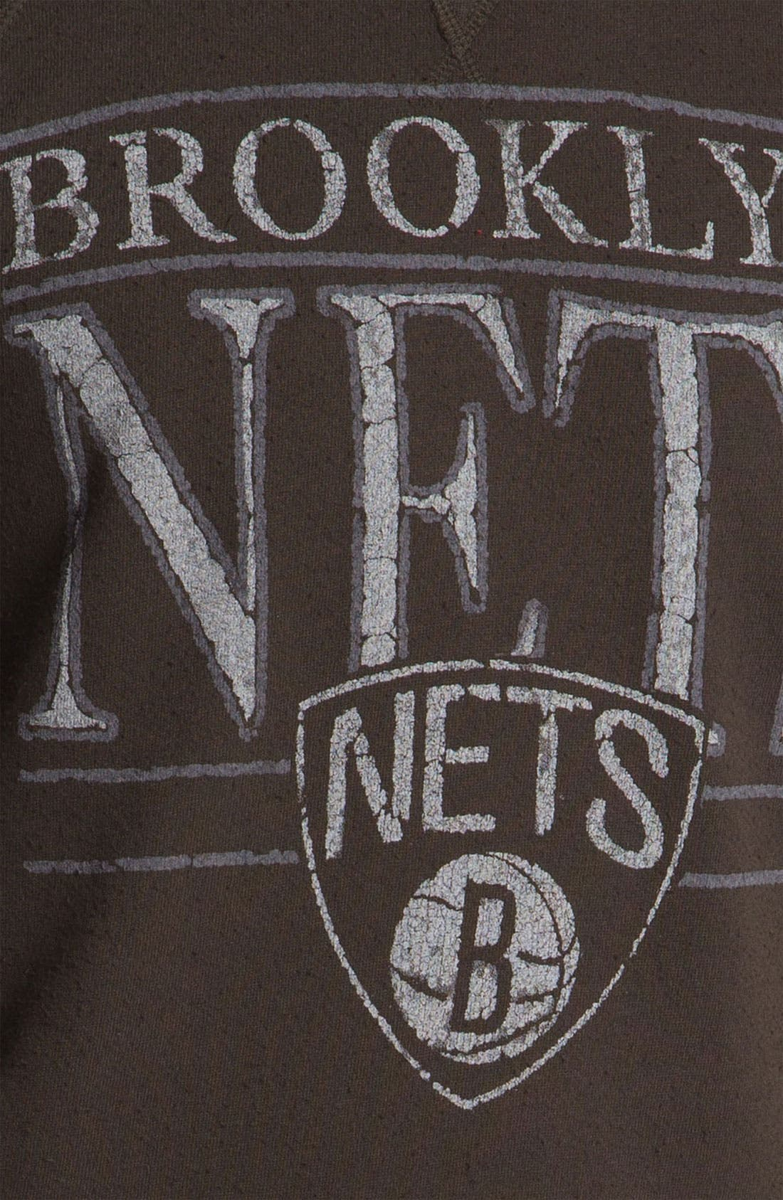 Alternate Image 3  - Junk Food 'Brooklyn Nets' Sweatshirt