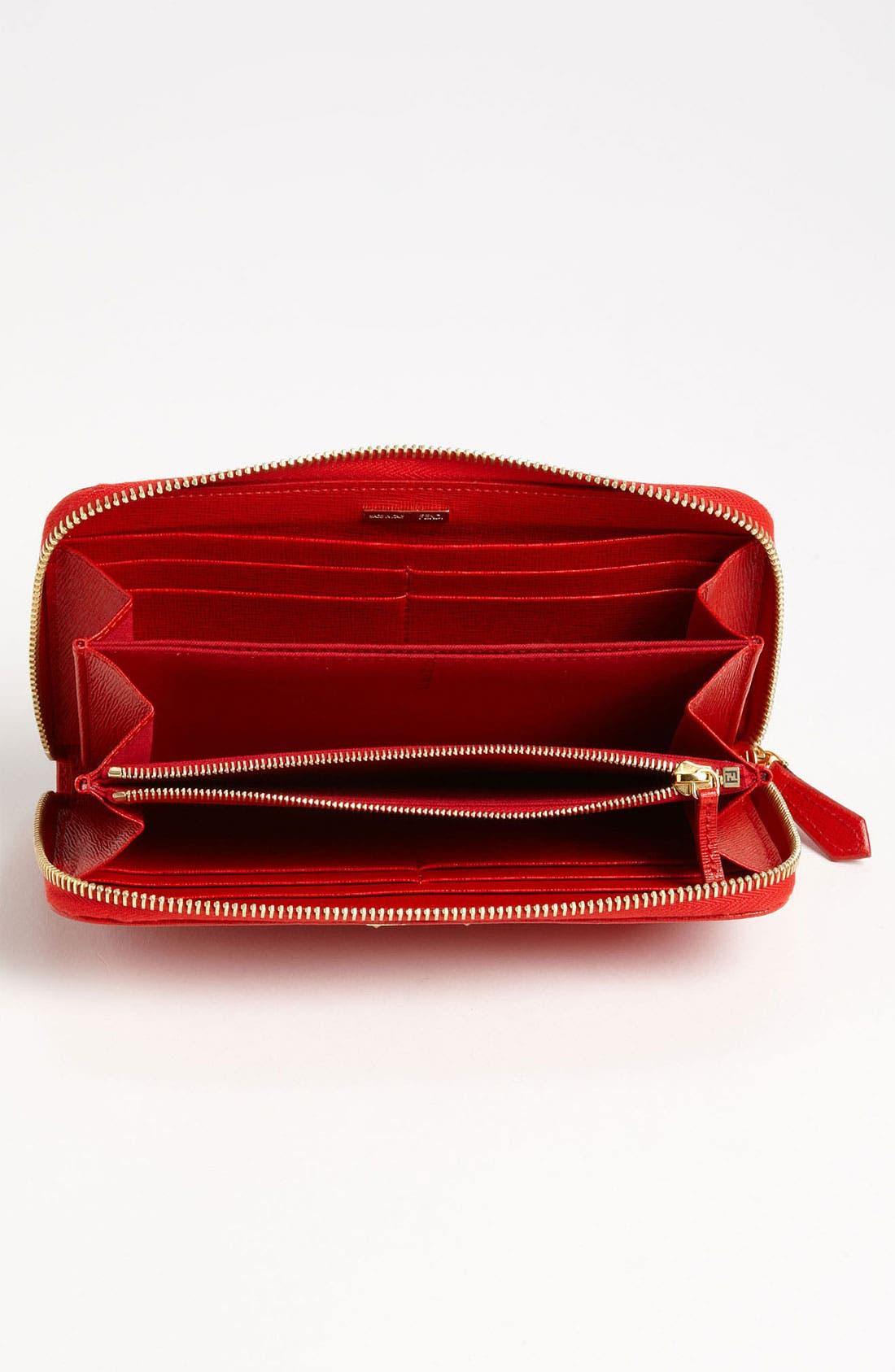 Alternate Image 2  - Fendi 'Crayons' Leather Wallet