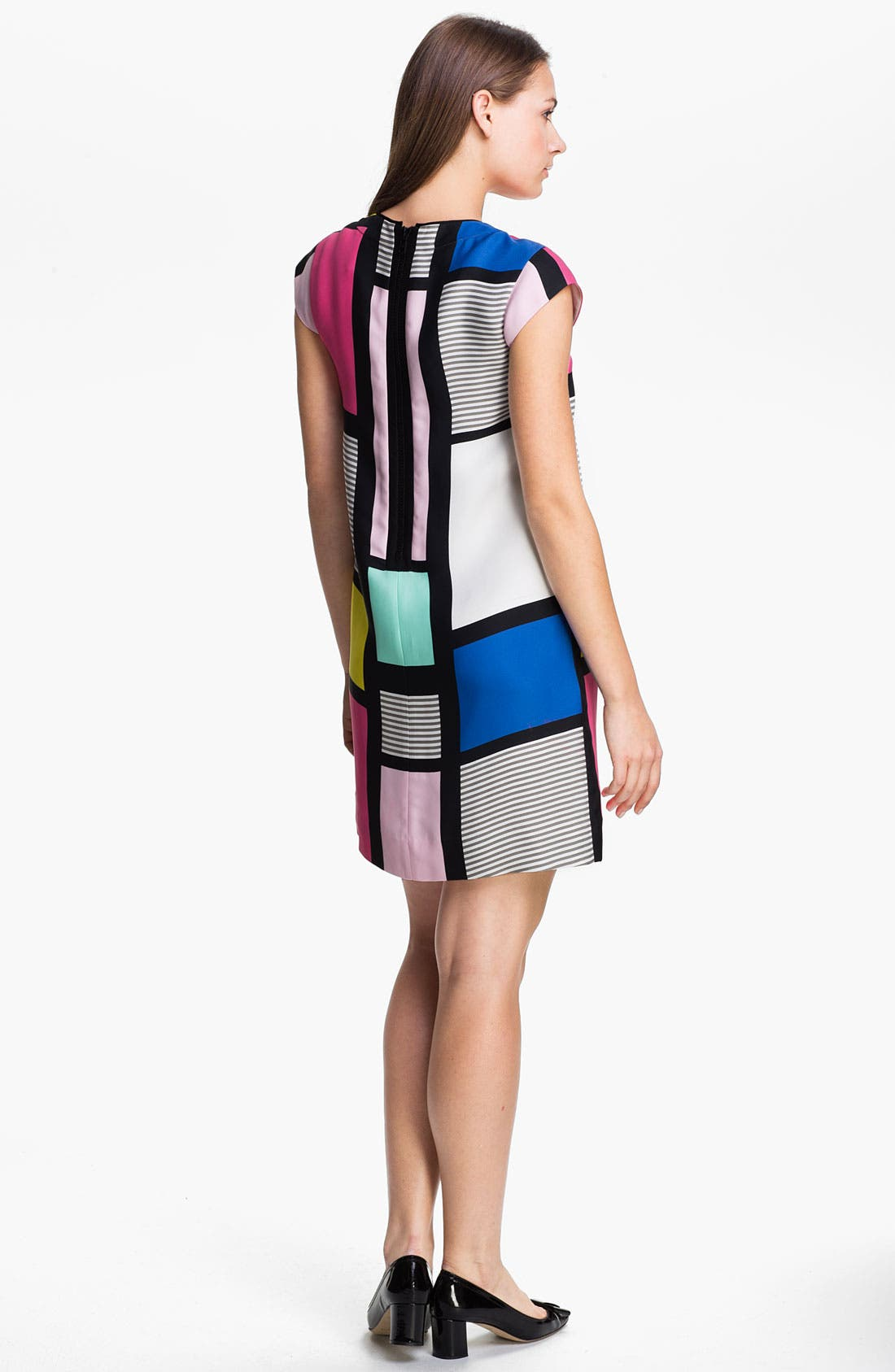 Alternate Image 2  - kate spade new york 'claudette' colorblock shift dress