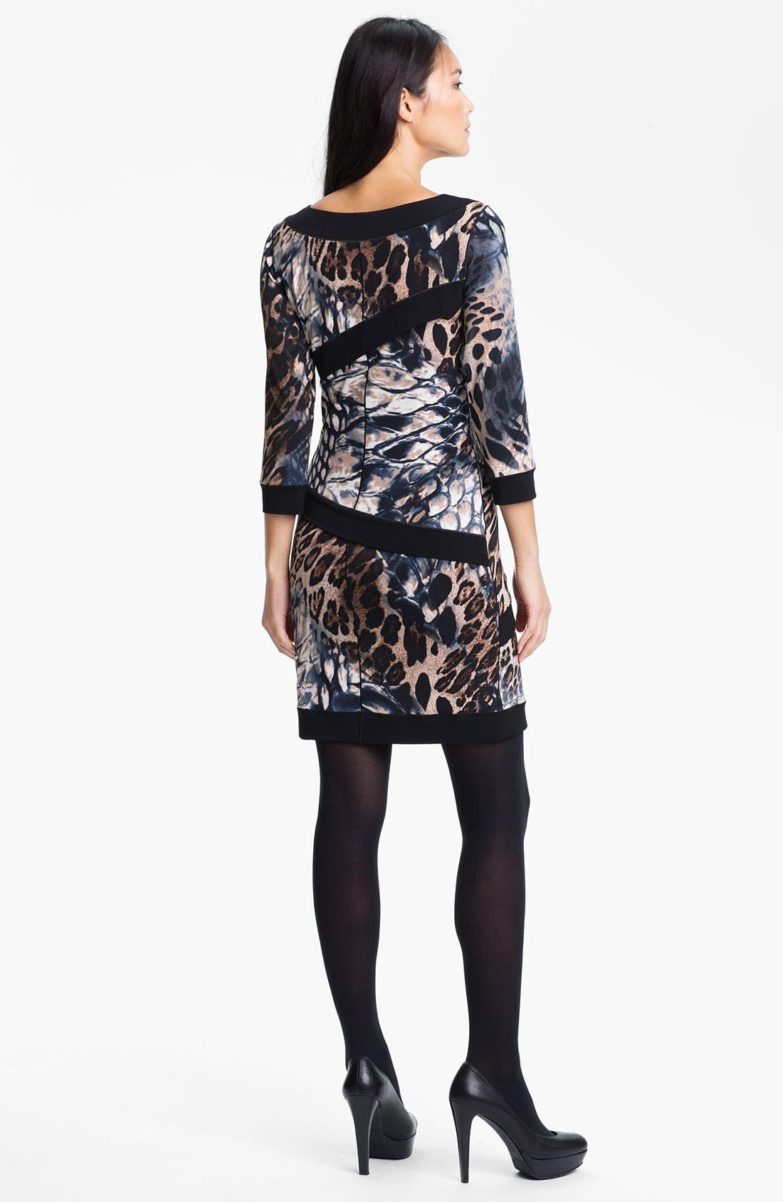 Alternate Image 2  - Eva Varro Print Front Dress (Online Exclusive)