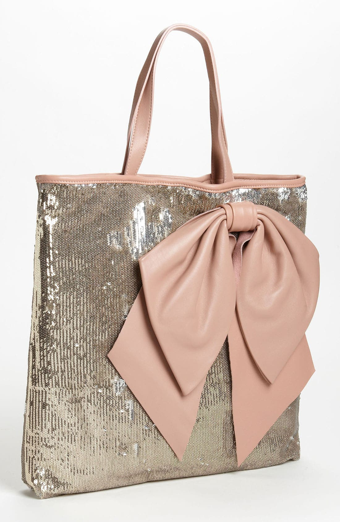 Alternate Image 1 Selected - RED Valentino Sequin Bow Tote