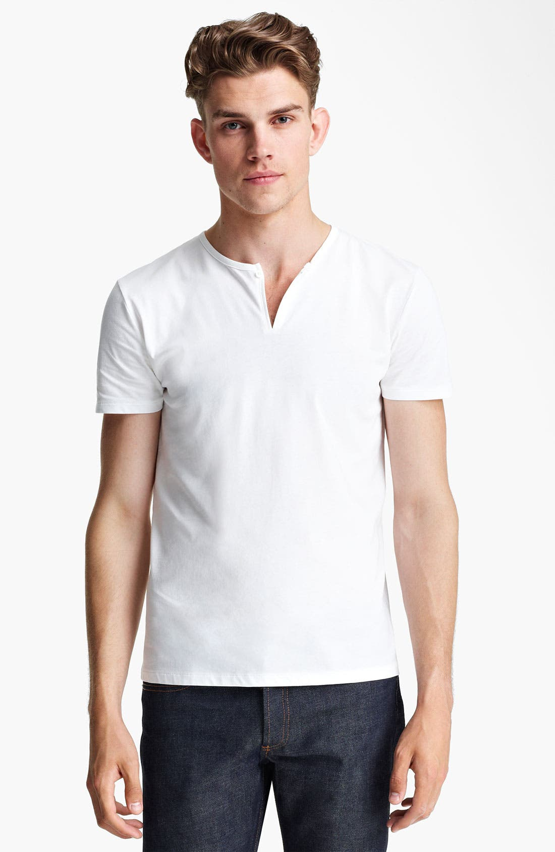 Alternate Image 1 Selected - A.P.C. Henley T-Shirt