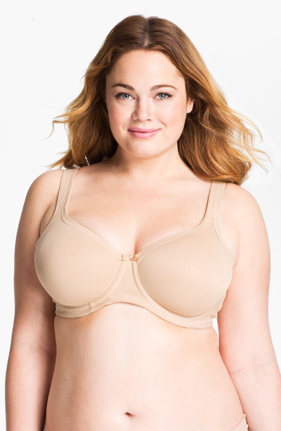 Alternate Image 1 Selected - Elomi Smoothing Underwire Bra (Plus Size)