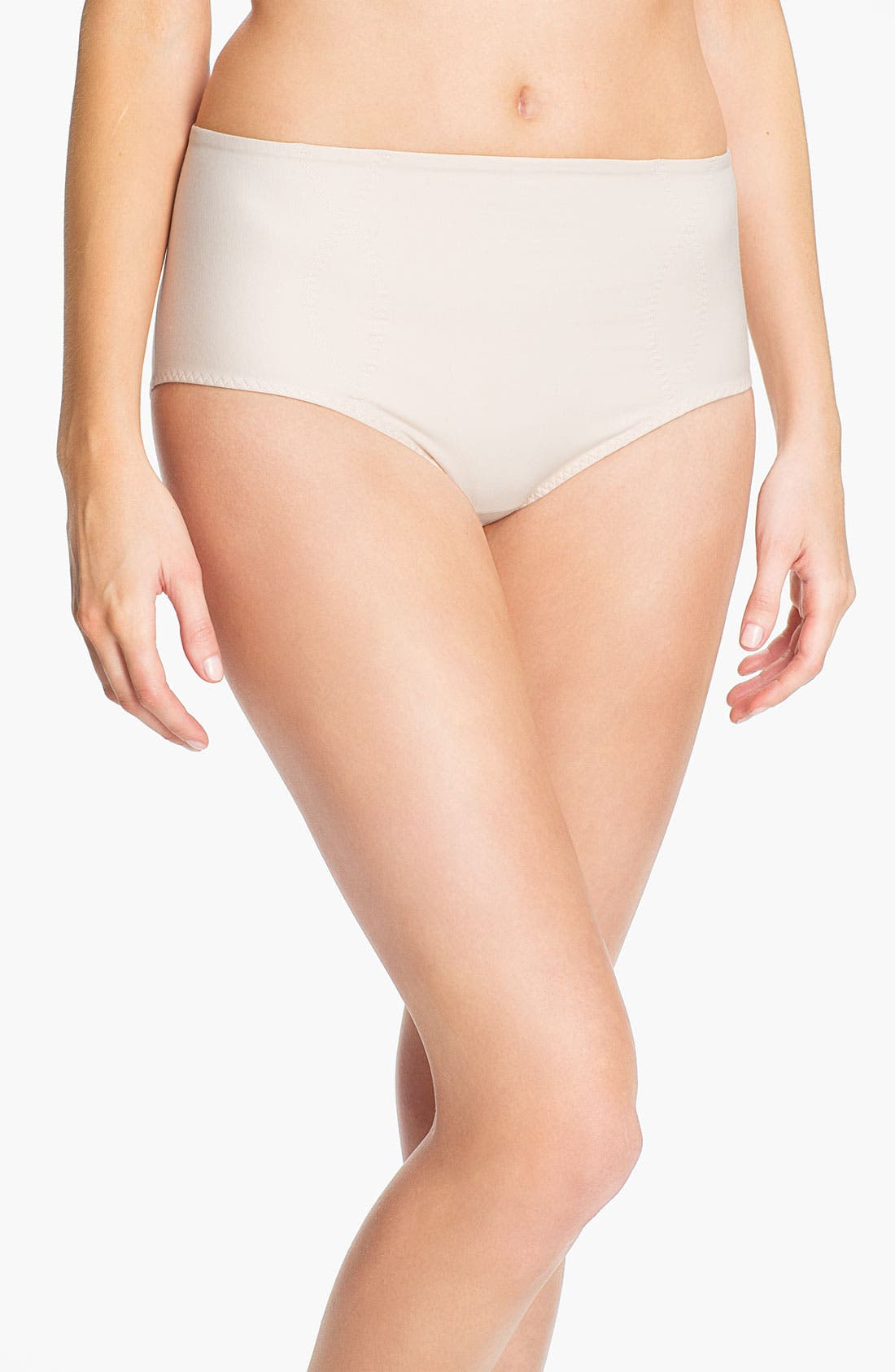 Alternate Image 1 Selected - SPANX® 'Spoil Me' Cotton Brief Shaper