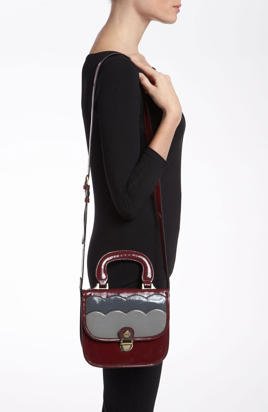 Alternate Image 4  - Darling 'Whitney' Top Handle Crossbody Satchel