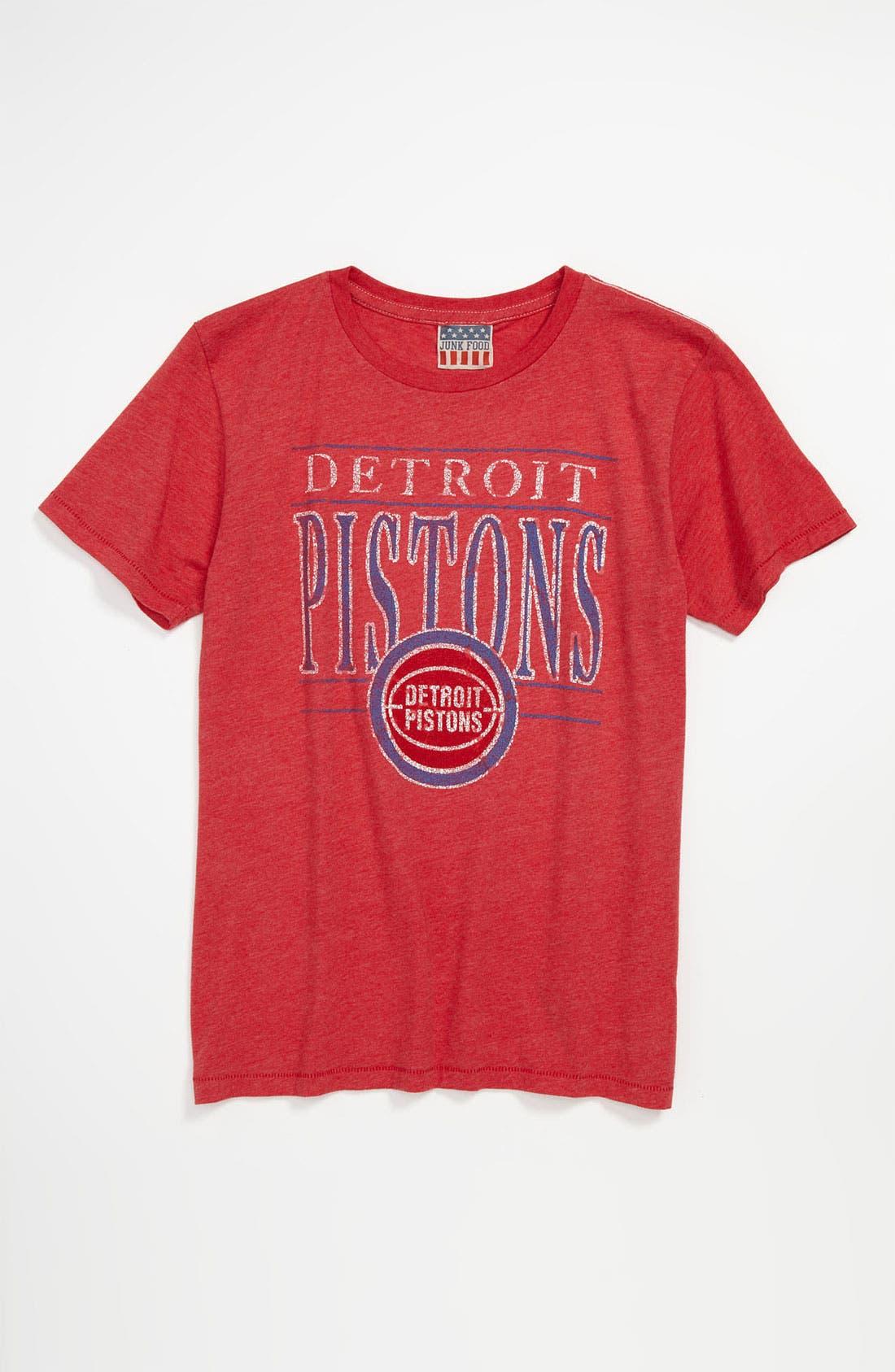 Main Image - Junk Food 'Detroit Pistons' T-Shirt (Little Boys & Big Boys)