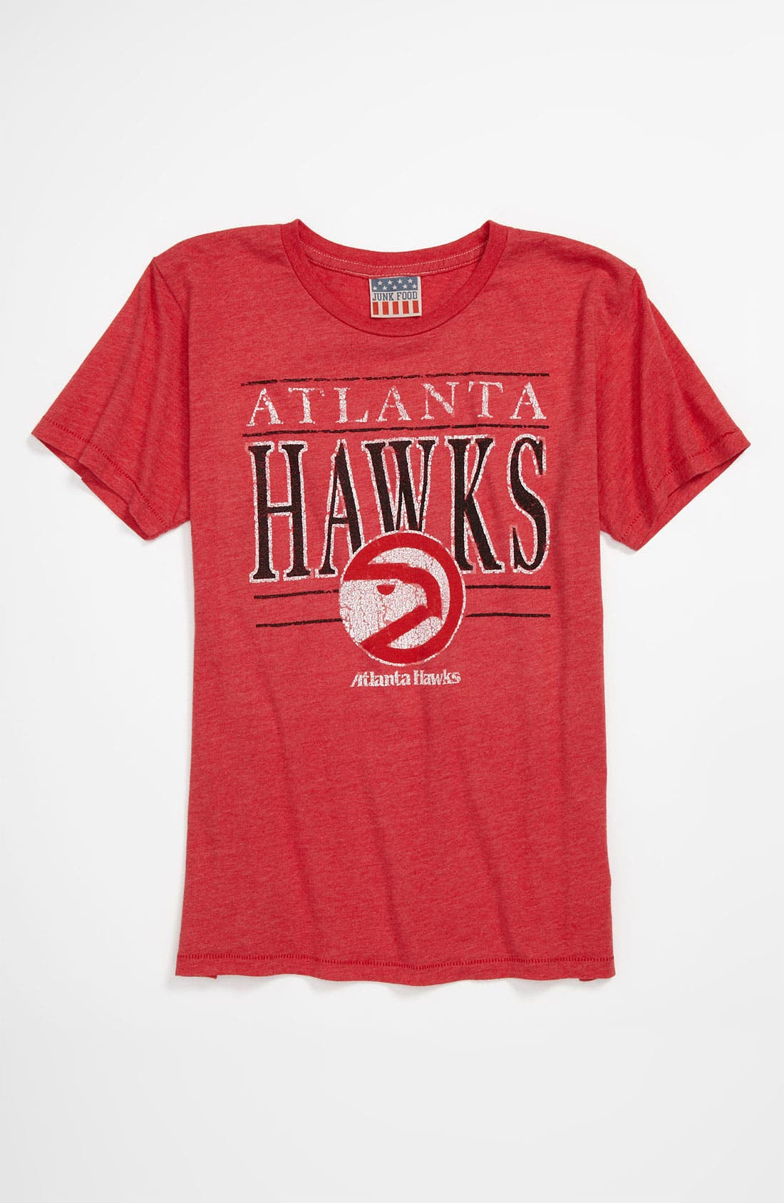 Alternate Image 1 Selected - Junk Food 'Atlanta Hawks' T-Shirt (Little Boys & Big Boys)