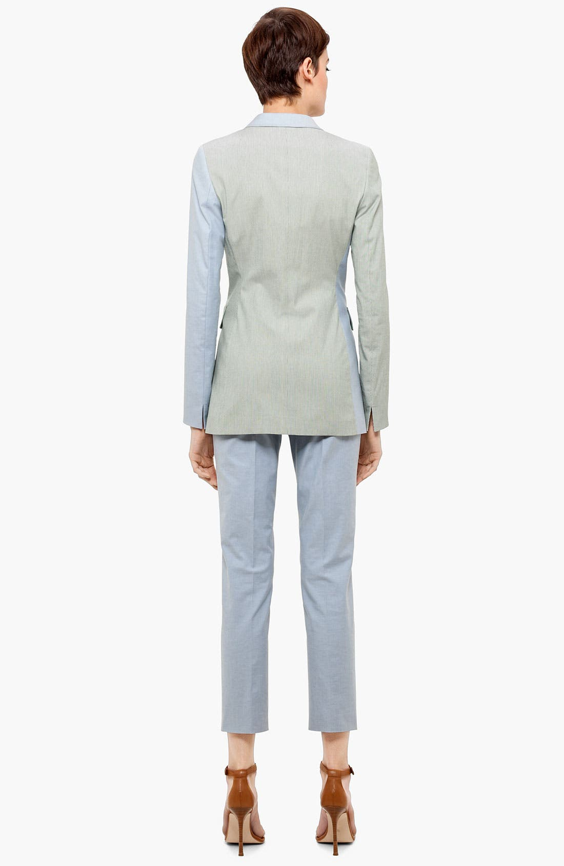 Alternate Image 3  - Akris punto 'Franca' Straight Leg Crop Pants