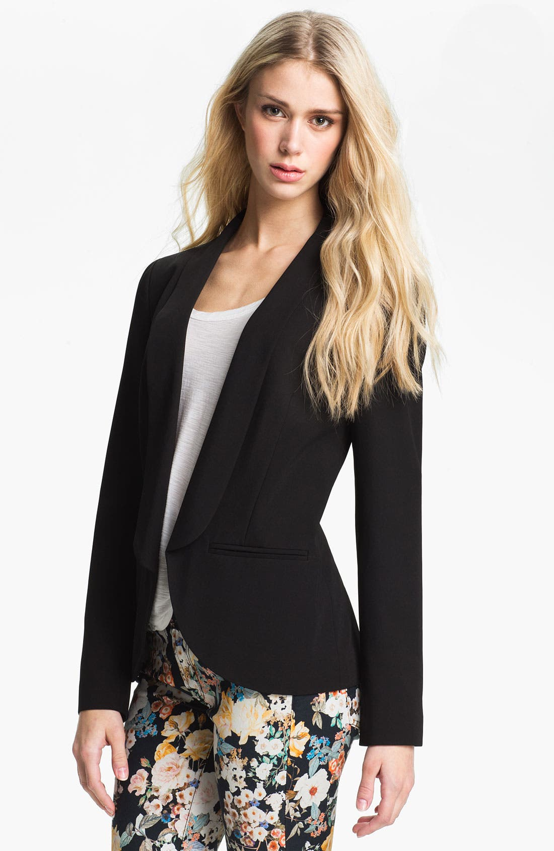 Alternate Image 1 Selected - Hinge® Shawl Collar Blazer