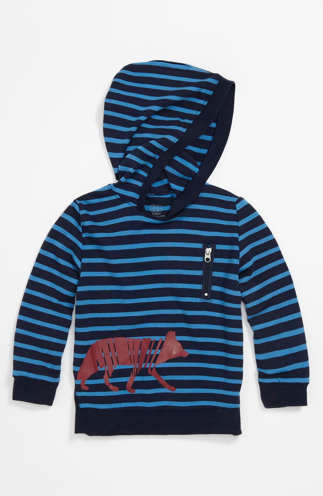 Alternate Image 1 Selected - egg by susan lazar Stripe Hoodie (Infant)
