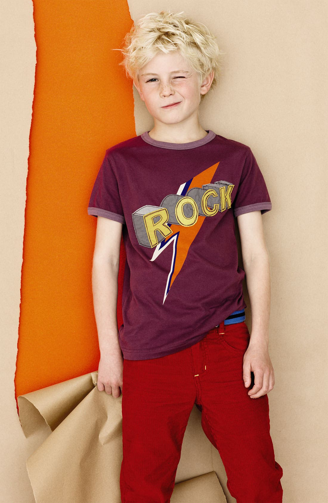 Alternate Image 2  - Mini Boden 'Rock' T-Shirt (Big Boys)