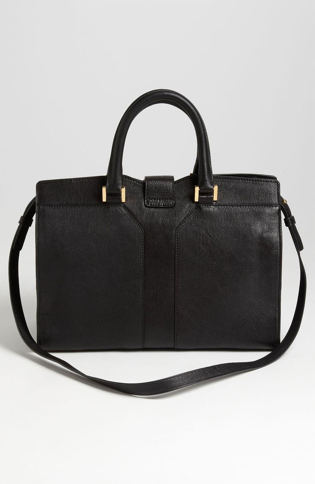 Alternate Image 4  - Saint Laurent Paris 'Cabas Chyc - Mini' Leather