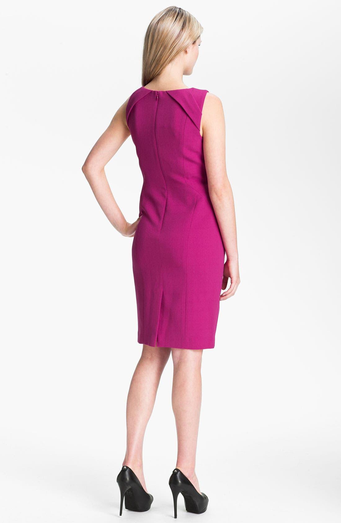 Alternate Image 2  - Anne Klein Sleeveless Sheath Dress