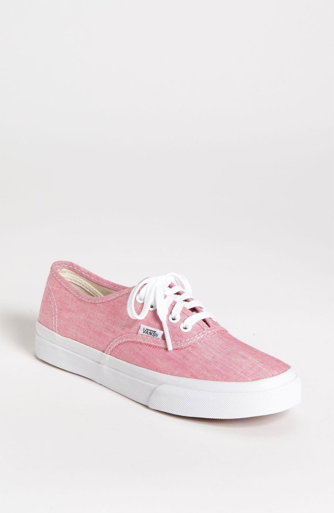 Alternate Image 1 Selected - Vans 'Authentic Slim - Van Doren' Sneaker (Women)