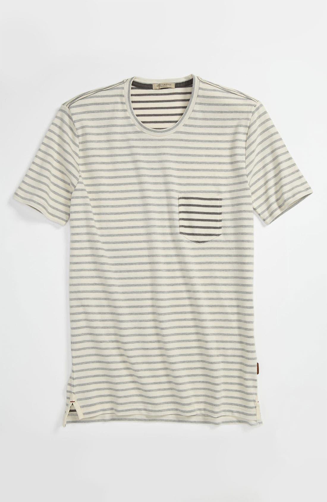 Alternate Image 4  - Burberry Brit Stripe T-Shirt
