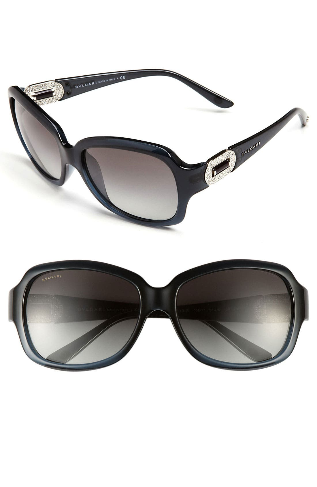 Alternate Image 1 Selected - BVLGARI Oversized Sunglasses