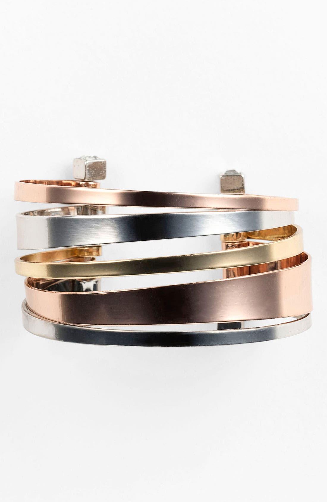 Alternate Image 1 Selected - BCBGeneration 'Serra' Multi Cuff Bracelet