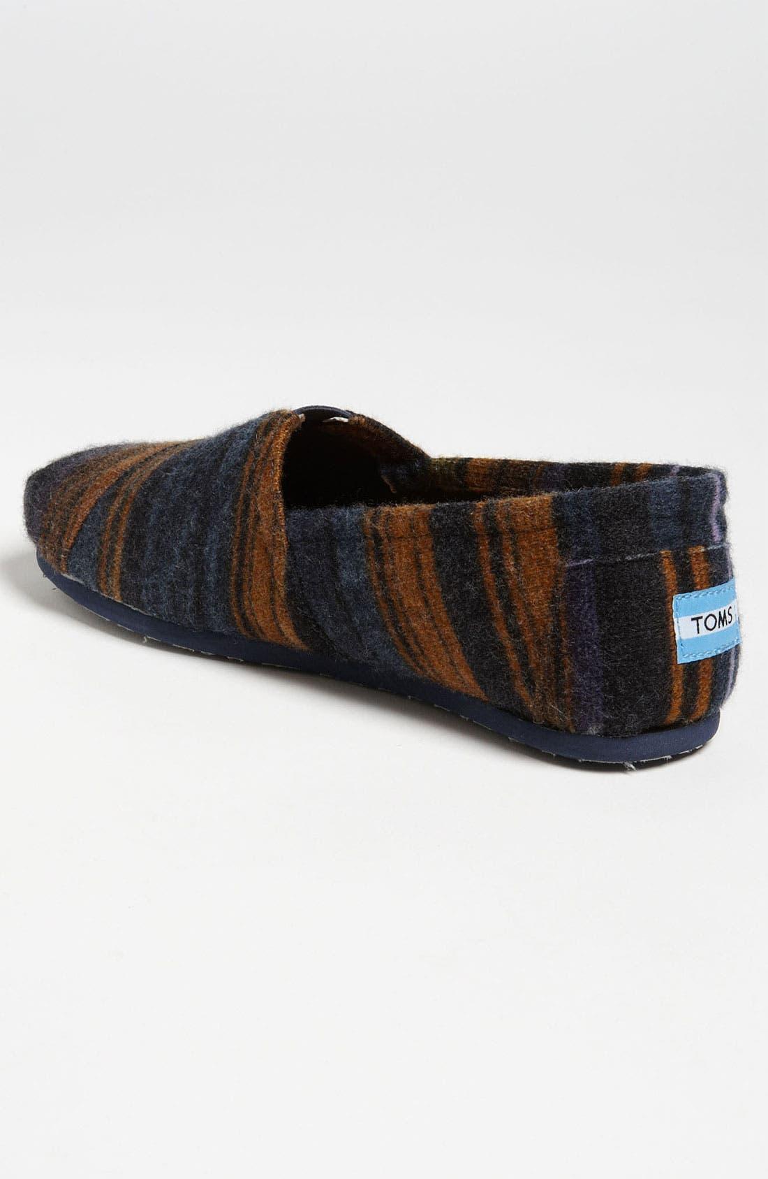 Alternate Image 2  - TOMS 'Classic - Novelty Knit' Slip-On (Men)