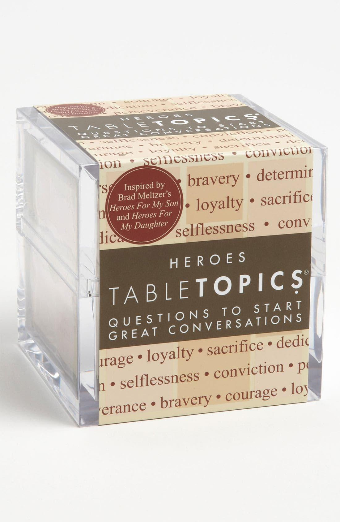 Main Image - TableTopics 'Heroes' Conversation Starters