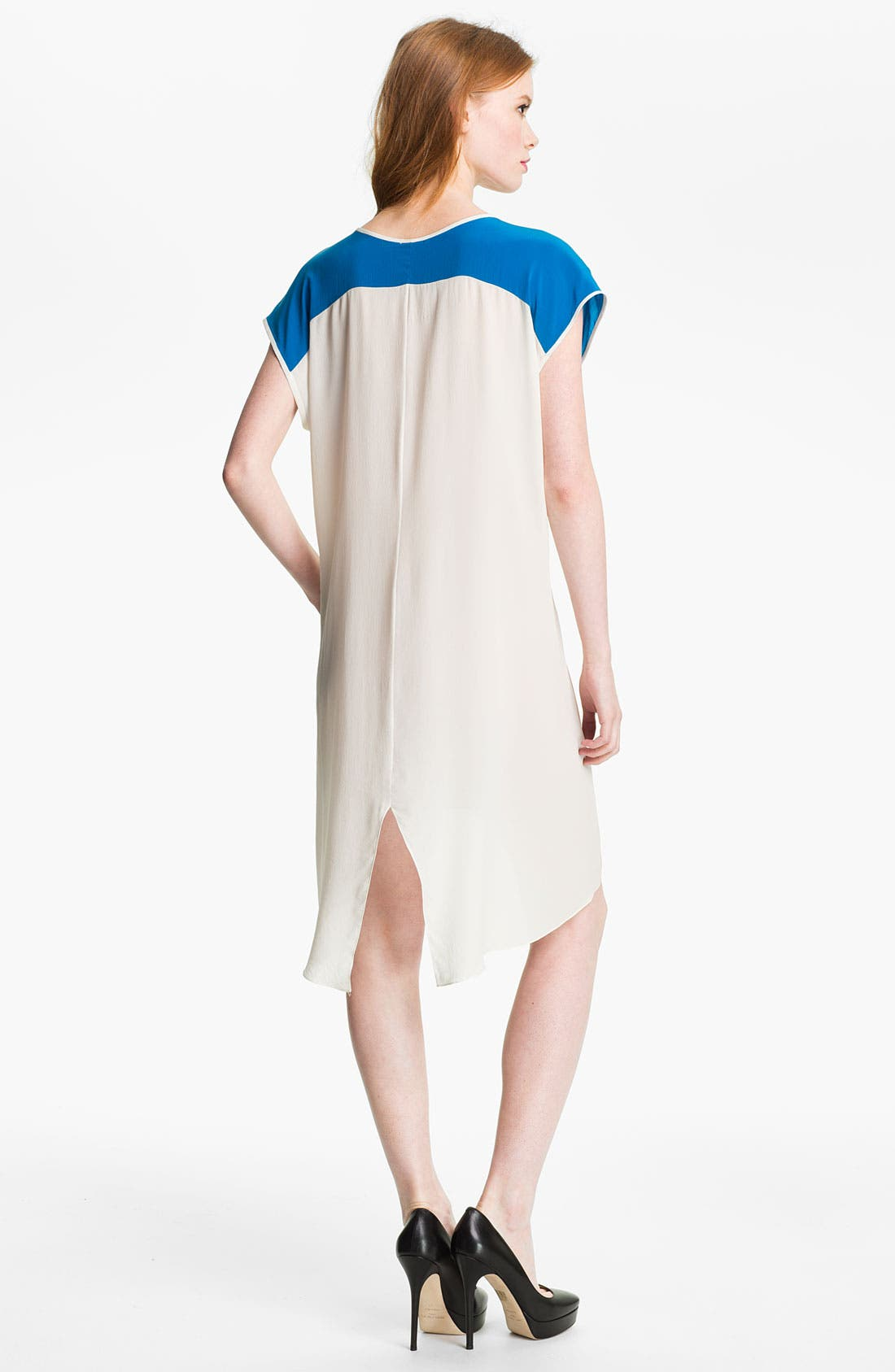 Alternate Image 2  - Rebecca Minkoff 'Baseball' Colorblock Dress