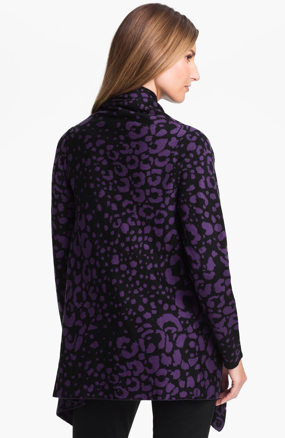 Alternate Image 2  - Beatrix Ost Leopard Pattern Cardigan (Online Exclusive)