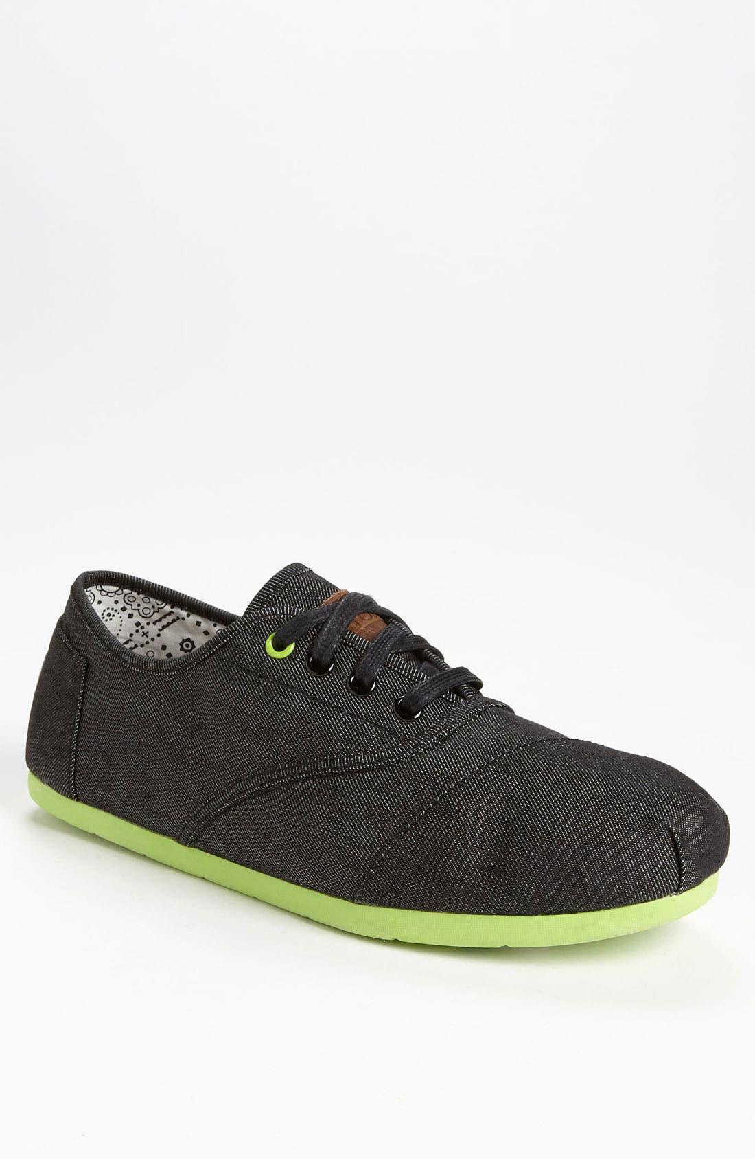 Alternate Image 1 Selected - TOMS 'Cordones' Denim Sneaker (Men)