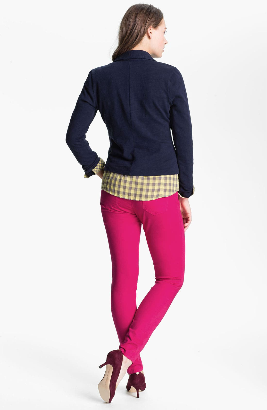 Alternate Image 5  - Wit & Wisdom Color Skinny Jeans (Nordstrom Exclusive)