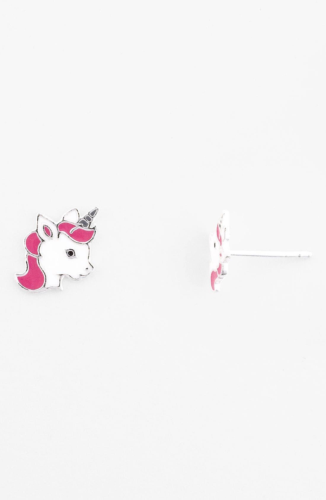 Alternate Image 1 Selected - Tomas Post Earrings (Girls)
