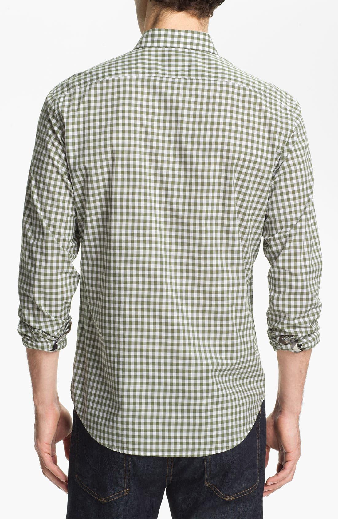 Alternate Image 2  - Burberry Brit Gingham Check Sport Shirt