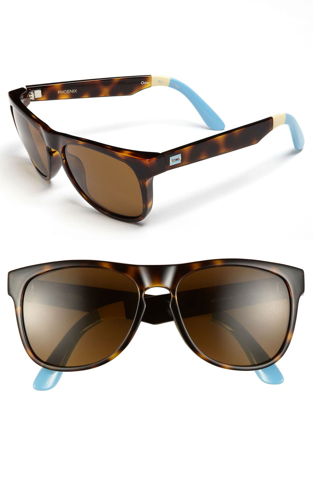 Alternate Image 1 Selected - TOMS 'Phoenix - Classic 106' 57mm Sunglasses