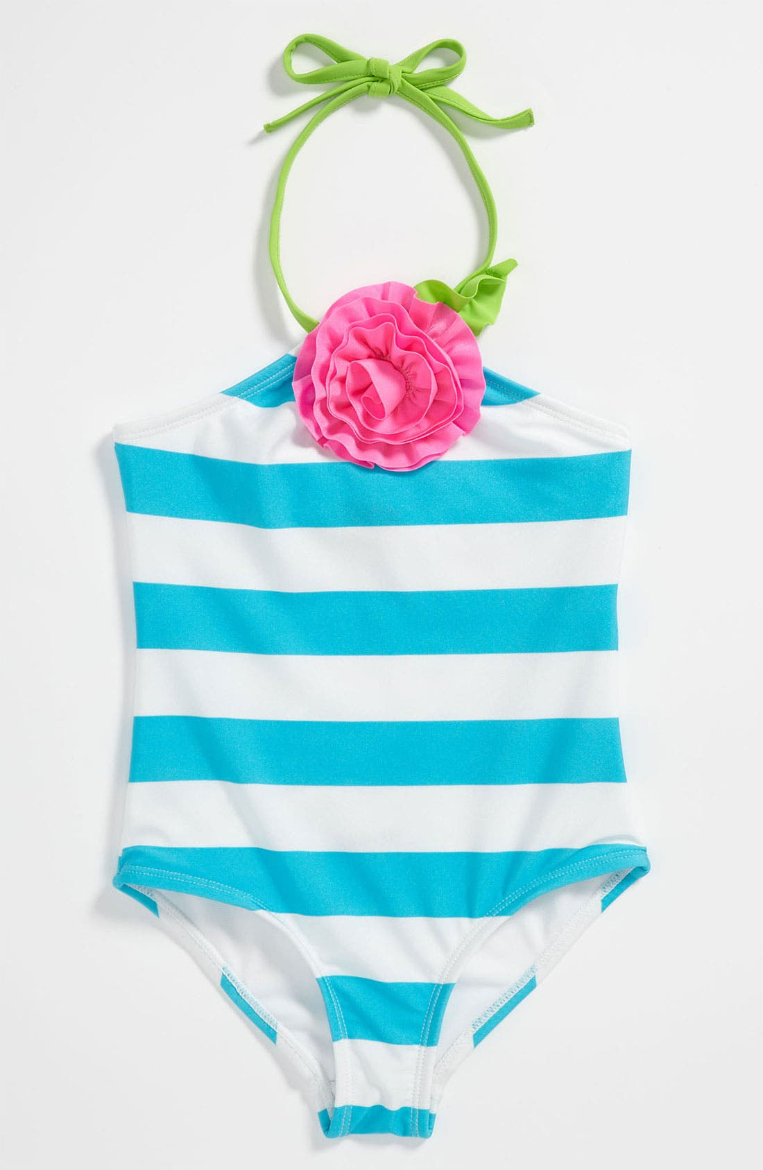 Alternate Image 1 Selected - Love U Lots One Piece Swimsuit (Toddler)