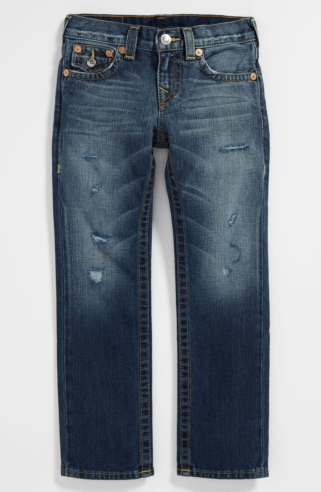 Alternate Image 2  - True Religion Brand Jeans 'Jack Rip & Repair' Jeans (Big Boys)