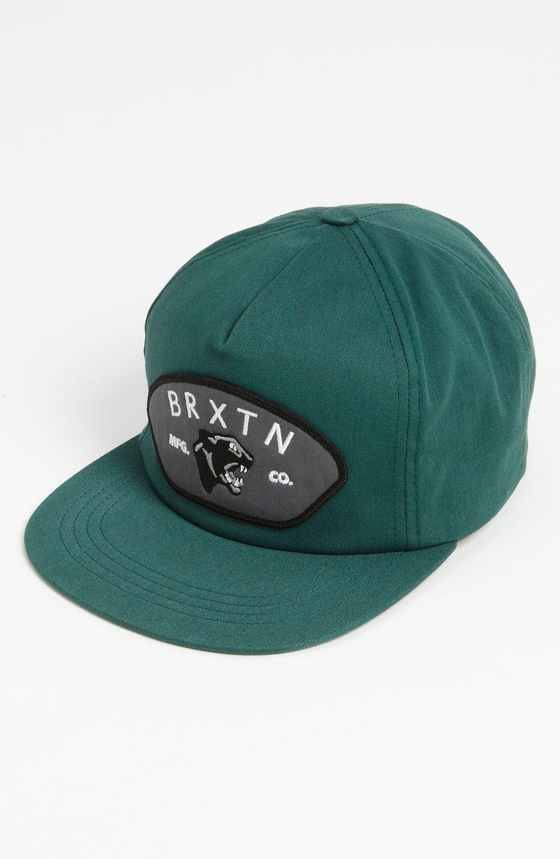 Alternate Image 1 Selected - Brixton 'Waylon' Snapback Baseball Cap