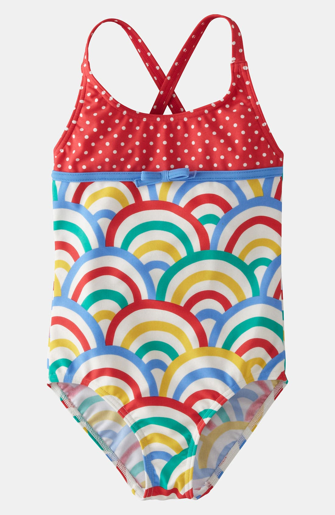 Main Image - Mini Boden One Piece Swimsuit (Little Girls & Big Girls)