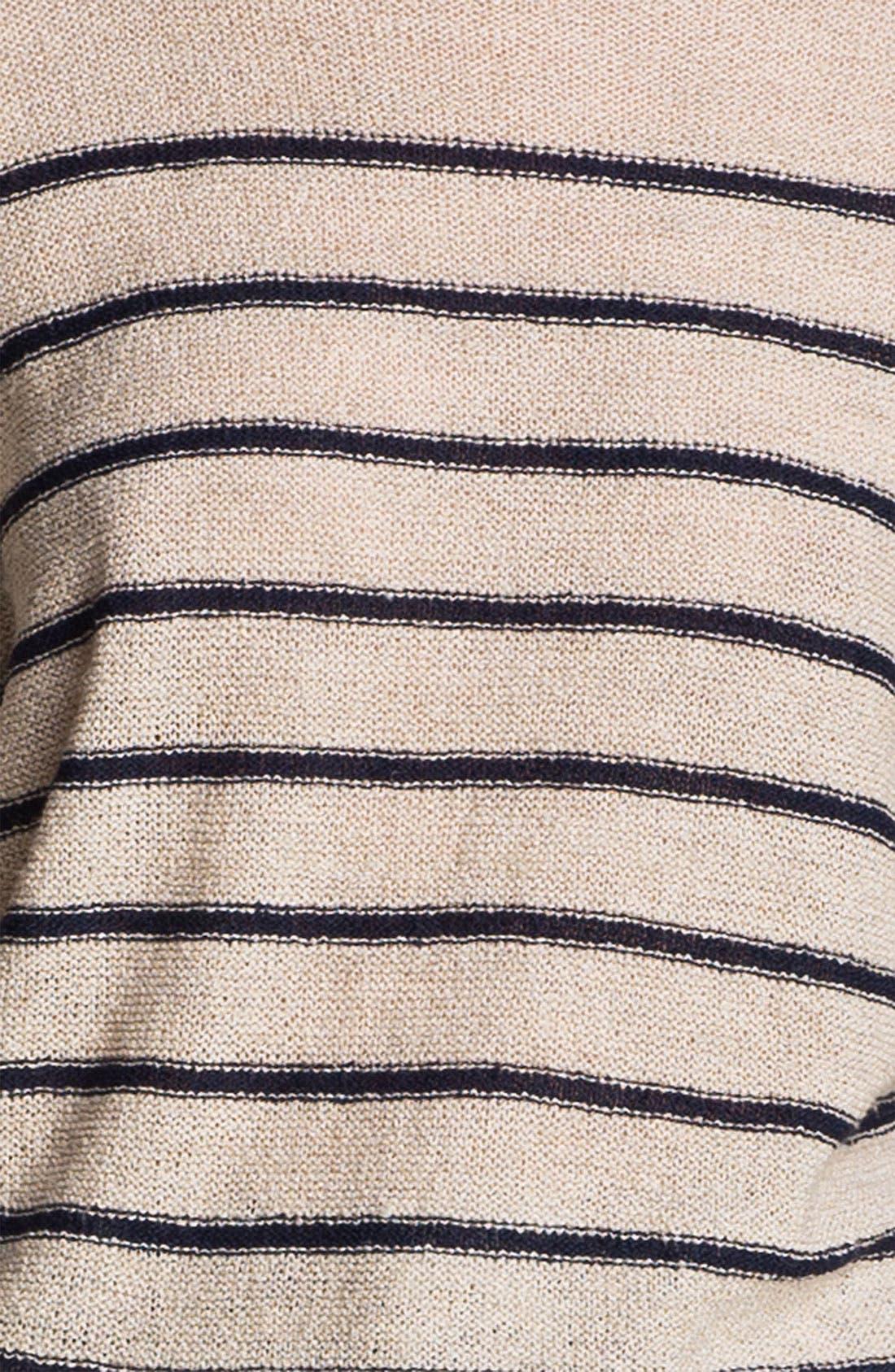 Alternate Image 5  - A.P.C. Stripe Textured Sweater
