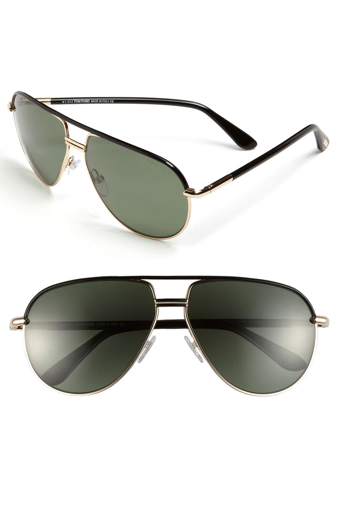 Alternate Image 1 Selected - Tom Ford 'Cole' 61mm Polarized Aviator Sunglasses