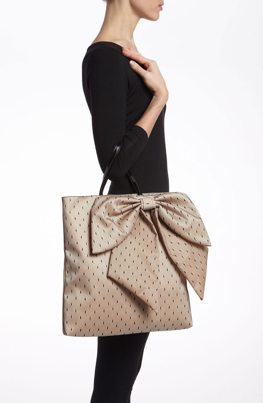 Alternate Image 2  - RED Valentino 'Bow' Point D'Esprit Tote