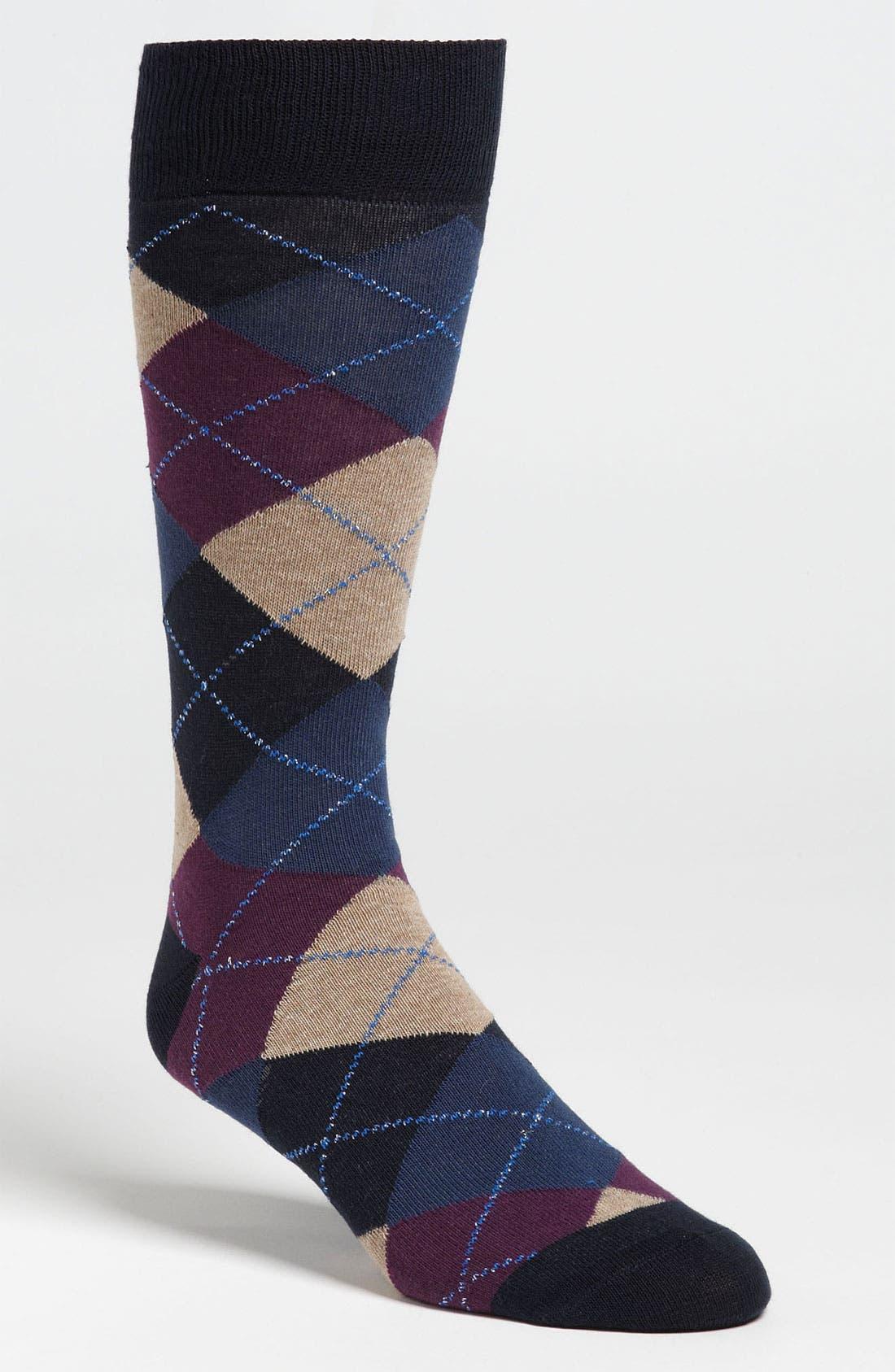 Main Image - Lorenzo Uomo Argyle Socks